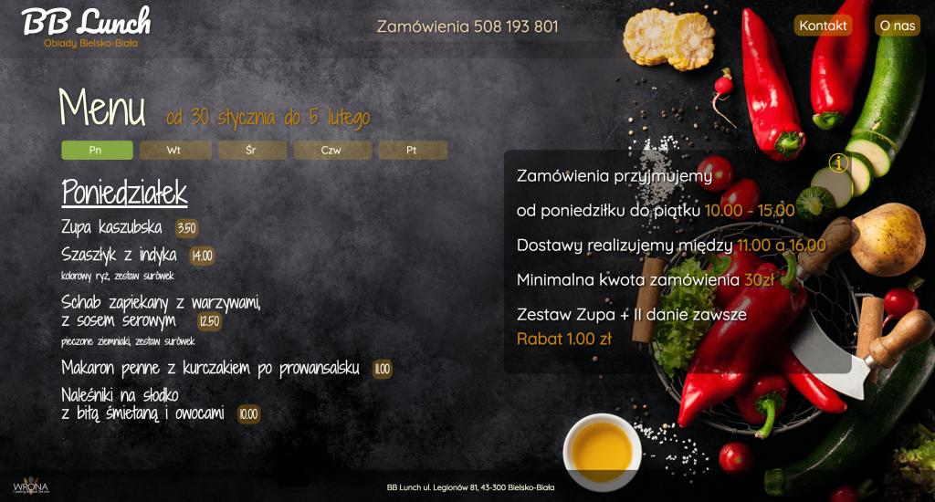 BB Lunch - obiady BIelsko-Biała